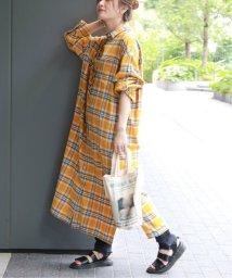 JOURNAL STANDARD/ビエラチェックシャツワンピース◆/502487340