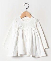 b-ROOM/キャミレイヤード風長袖Tシャツ/502476500