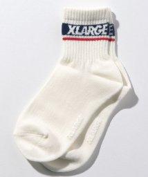 XLARGE KIDS/ロゴクルーソックス/502476537