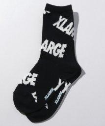 XLARGE KIDS/ロゴソウガラクルーソックス/502476538