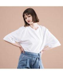 Levi's/LEVI'S(R) MADE & CRAFTED(R) オーバーサイズスリーブTシャツ BRIGHT WHITE/502487997