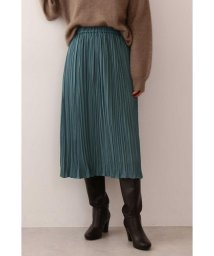 PROPORTION BODY DRESSING/|CanCam 11月号掲載|《EDIT COLOGNE》ランダムプリーツサテンスカート◆/502488167