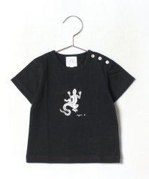 agnes b. ENFANT/SF64 L TS ベビー レザールTシャツ/502428572