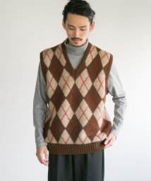 URBAN RESEARCH OUTLET/【UR】5GアーガイルKNITVEST/502461171