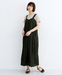 merlot/ワイドドレープサロペット/502490400