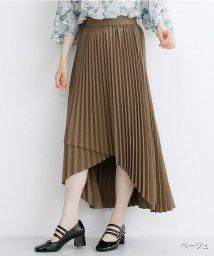merlot/アシメプリーツラップスカート/502490410