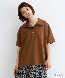merlot/半袖開襟ポロシャツ/502490427