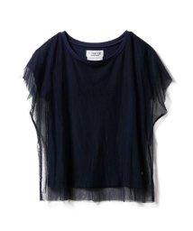 gelato pique/【Chacott】チュールコンビTシャツ/502491000
