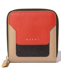 MARNI/【MARNI】2つ折り財布/VANITOSI【ARABESQUE+BLACK+SOFT BEIGE】/502436476