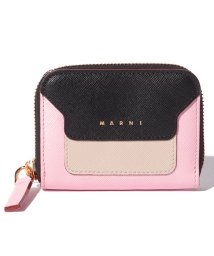 MARNI/【MARNI】コインケース/VANITOSI【BLACK+ANTIQUE WHITE+CINDER ROSE】/502436480