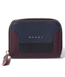 MARNI/【MARNI】コインケース/VANITOSI【NIGHT BLUE+BLACK+WINE】/502436481
