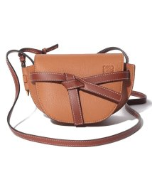 LOEWE/【LOEWE】ショルダーバッグ/MINI GATE【LIGHT CARAMEL/PECAN】/502457731