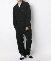 LAZAR/デニムオールインワン つなぎ/502470497