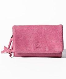 LANVIN en Bleu(BAG)/アメリ 外ファスナー3つ折り財布/502485327