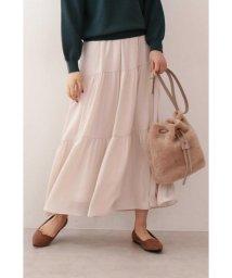 PROPORTION BODY DRESSING/|CanCam 11月号掲載|《EDIT COLOGNE》サテンティアードスカート◆/502488166