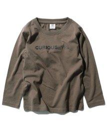 devirock/キッズ 子供服 デビラボ ロゴプリント長袖Tシャツ 男の子 女の子/502493493