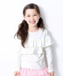 devirock/キッズ 子供服   男の子 女の子ガールズデザイン長袖Tシャツ 女の子/502493496