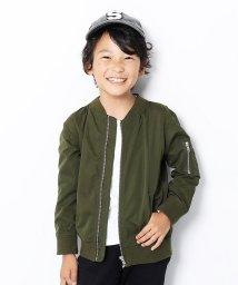 devirock/キッズ 子供服 ライトMA-1ジャケット 男の子 女の子/502493497