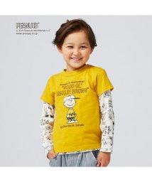 BREEZE/PEANUTSコラボ2PセットTシャツ(スヌーピー)/502379679