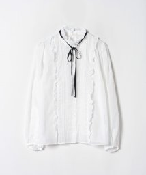 To b. by agnes b./WK93 CHEMISE 台襟フリルブラウス/502483328