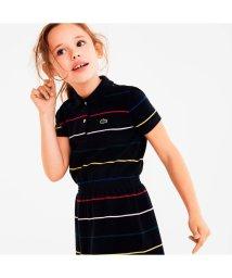 LACOSTE KIDS/GIRLSマルチボーダーポロワンピース/502494112
