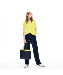 LACOSTE/ANNA FANTAISIEトップ配色リバーシブルトート/502494139
