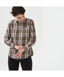 AIGLE/吸水速乾 長袖チェックシャツ/502494140
