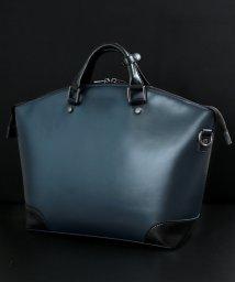Blu're/ビジネスバッグ メンズ ブリーフケース 自立 通勤鞄 扇形デザイン A4 B4 PC対応 出張 2way ショルダー付き BLU'RE/502495314