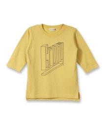 branshes/立体ロゴ7分袖Tシャツ(80~150cm)/502497095