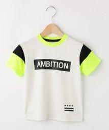 THE SHOP TK(KID)/【100-150cm】メッシュ袖切替Tシャツ/502497278