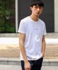 LOVELESS MENS/ポリクレスト ロゴ クルーネックTシャツ/502423295
