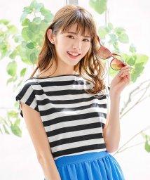 KOBE LETTUCE/【アセリア】汗染み防止前後2WAYTシャツ/502474190