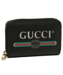 GUCCI/グッチ コインケース メンズ レディース GUCCI 496319 0GCAT 8163 Credit Card Case ブラック/502481630