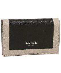 kate spade new york/ケイトスペード カードケース キーリング コインケース レディース KATE SPADE PWRU7157 106 ブラックマルチ/502481744