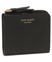 kate spade new york/ケイトスペード 折財布 アウトレット レディース KATE SPADE WLRU5431 001 ブラック/502481784
