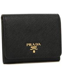 PRADA/プラダ 折財布 レディース PRADA 1MH176 QWA F0002 ブラック/502481921