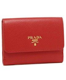 PRADA/プラダ 二つ折り財布 PRADA 1MH523 ZLP F0NBX レッド ピンク/502481922
