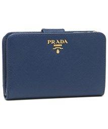 PRADA/プラダ 折財布 レディース PRADA 1ML225 QWA F0016 ブルー/502481923