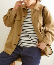 ROPE' PICNIC/【春も着られる】マシュマロタッチシャツジャケット/502497902