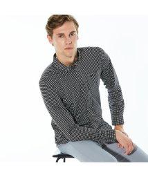 LACOSTE Mens/ギンガムチェックボタンダウンシャツ/502498063