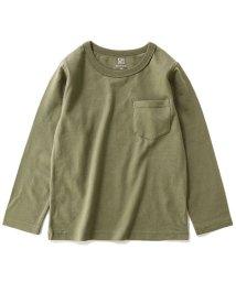 devirock/キッズ 子供服 クルーネック長袖Tシャツ 男の子 女の子/502499036