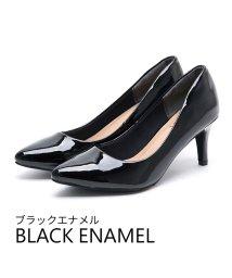Vivian/ポインテッドトゥ7cmキレイめパンプス/502500037