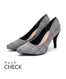 Vivian/ポインテッドトゥ9cmキレイめパンプス/502500038