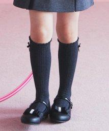 KUMIKYOKU KIDS/【KIDS雑貨】リボン付きソックス(16~24cm)/502500999