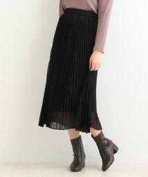 MAJESTIC LEGON/シャイニープリーツスカート/502356679