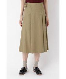 HUMAN WOMAN/ピーチコットンツイル・ハイクールスカート/502370300