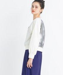 LANVIN en Bleu/異素材ロングシャツ/502430016