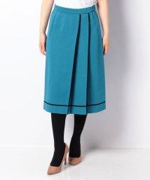 LAPINE BLANCHE/【セットアップ対応】16Gミラノリブ 配色ライン使いスカート/502490544