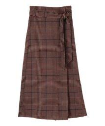 titivate/フェイクラップAラインスカート/502499030