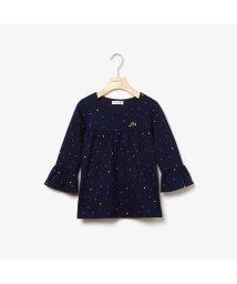 LACOSTE KIDS/GIRLSマルチカラーポルカドットロングスリーブTシャツ/502501086